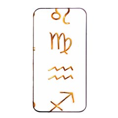 Signs Of The Zodiac Zodiac Aries Apple Iphone 4/4s Seamless Case (black)