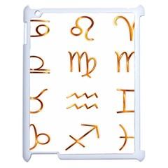 Signs Of The Zodiac Zodiac Aries Apple Ipad 2 Case (white)
