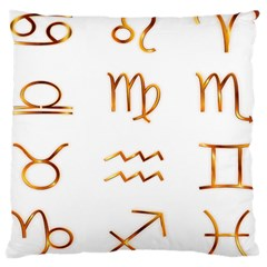 Signs Of The Zodiac Zodiac Aries Large Cushion Case (two Sides)