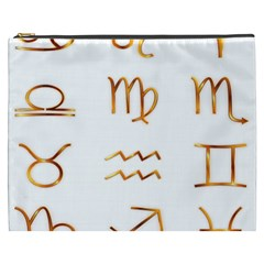 Signs Of The Zodiac Zodiac Aries Cosmetic Bag (xxxl)