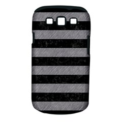 Stripes2 Black Marble & Gray Colored Pencil Samsung Galaxy S Iii Classic Hardshell Case (pc+silicone)