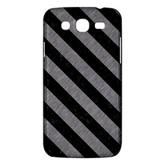 Stripes3 Black Marble & Gray Colored Pencil (r) Samsung Galaxy Mega 5 8 I9152 Hardshell Case