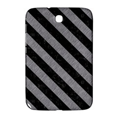 Stripes3 Black Marble & Gray Colored Pencil (r) Samsung Galaxy Note 8 0 N5100 Hardshell Case