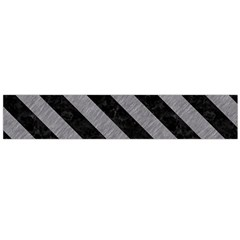 Stripes3 Black Marble & Gray Colored Pencil (r) Flano Scarf (large)