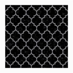 Tile1 Black Marble & Gray Colored Pencil Medium Glasses Cloth (2 Side)