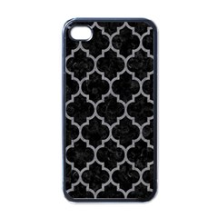 Tile1 Black Marble & Gray Colored Pencil Apple Iphone 4 Case (black)