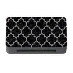 Tile1 Black Marble & Gray Colored Pencil Memory Card Reader With Cf