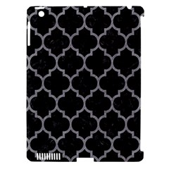Tile1 Black Marble & Gray Colored Pencil Apple Ipad 3/4 Hardshell Case (compatible With Smart Cover)