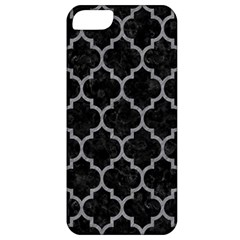 Tile1 Black Marble & Gray Colored Pencil Apple Iphone 5 Classic Hardshell Case