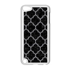 Tile1 Black Marble & Gray Colored Pencil Apple Ipod Touch 5 Case (white)