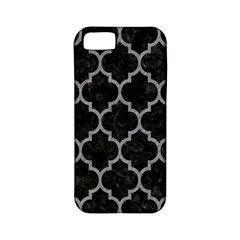 Tile1 Black Marble & Gray Colored Pencil Apple Iphone 5 Classic Hardshell Case (pc+silicone)
