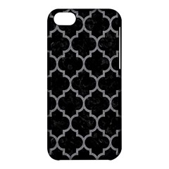 Tile1 Black Marble & Gray Colored Pencil Apple Iphone 5c Hardshell Case