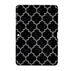 Tile1 Black Marble & Gray Colored Pencil Samsung Galaxy Tab 2 (10 1 ) P5100 Hardshell Case