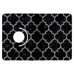 Tile1 Black Marble & Gray Colored Pencil Kindle Fire Hdx Flip 360 Case