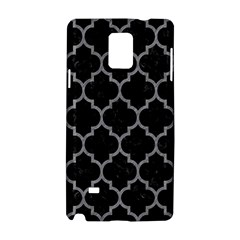 Tile1 Black Marble & Gray Colored Pencil Samsung Galaxy Note 4 Hardshell Case