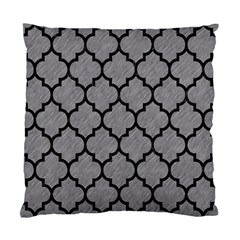 Tile1 Black Marble & Gray Colored Pencil (r) Standard Cushion Case (one Side)
