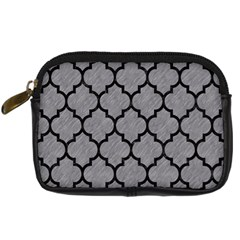 Tile1 Black Marble & Gray Colored Pencil (r) Digital Camera Cases