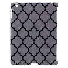 Tile1 Black Marble & Gray Colored Pencil (r) Apple Ipad 3/4 Hardshell Case (compatible With Smart Cover)