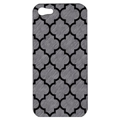Tile1 Black Marble & Gray Colored Pencil (r) Apple Iphone 5 Hardshell Case