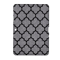 Tile1 Black Marble & Gray Colored Pencil (r) Samsung Galaxy Tab 2 (10 1 ) P5100 Hardshell Case