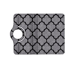 Tile1 Black Marble & Gray Colored Pencil (r) Kindle Fire Hd (2013) Flip 360 Case