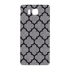 Tile1 Black Marble & Gray Colored Pencil (r) Samsung Galaxy Alpha Hardshell Back Case