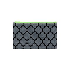 Tile1 Black Marble & Gray Colored Pencil (r) Cosmetic Bag (xs)