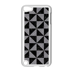 Triangle1 Black Marble & Gray Colored Pencil Apple Ipod Touch 5 Case (white)