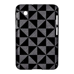 Triangle1 Black Marble & Gray Colored Pencil Samsung Galaxy Tab 2 (7 ) P3100 Hardshell Case