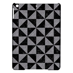 Triangle1 Black Marble & Gray Colored Pencil Ipad Air Hardshell Cases