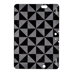 Triangle1 Black Marble & Gray Colored Pencil Kindle Fire Hdx 8 9  Hardshell Case