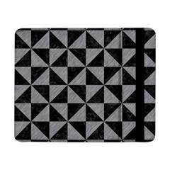Triangle1 Black Marble & Gray Colored Pencil Samsung Galaxy Tab Pro 8 4  Flip Case