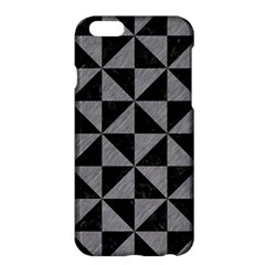 Triangle1 Black Marble & Gray Colored Pencil Apple Iphone 6 Plus/6s Plus Hardshell Case
