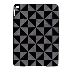 Triangle1 Black Marble & Gray Colored Pencil Ipad Air 2 Hardshell Cases