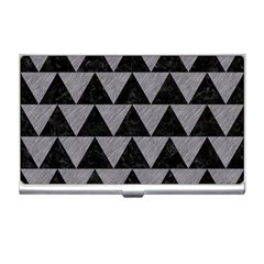 Triangle2 Black Marble & Gray Colored Pencil Business Card Holders