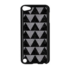 Triangle2 Black Marble & Gray Colored Pencil Apple Ipod Touch 5 Case (black)