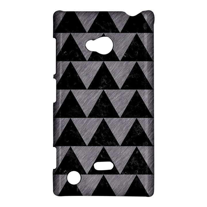 TRIANGLE2 BLACK MARBLE & GRAY COLORED PENCIL Nokia Lumia 720