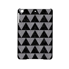 Triangle2 Black Marble & Gray Colored Pencil Ipad Mini 2 Hardshell Cases