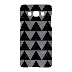 Triangle2 Black Marble & Gray Colored Pencil Samsung Galaxy A5 Hardshell Case