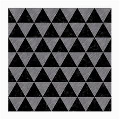Triangle3 Black Marble & Gray Colored Pencil Medium Glasses Cloth