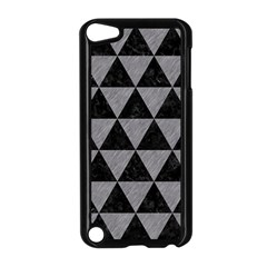 Triangle3 Black Marble & Gray Colored Pencil Apple Ipod Touch 5 Case (black)