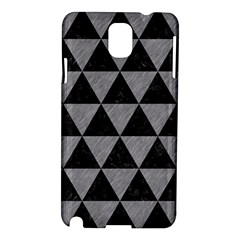Triangle3 Black Marble & Gray Colored Pencil Samsung Galaxy Note 3 N9005 Hardshell Case