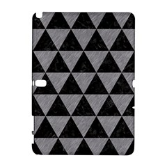 Triangle3 Black Marble & Gray Colored Pencil Galaxy Note 1