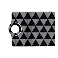 Triangle3 Black Marble & Gray Colored Pencil Kindle Fire Hd (2013) Flip 360 Case