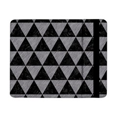 Triangle3 Black Marble & Gray Colored Pencil Samsung Galaxy Tab Pro 8 4  Flip Case