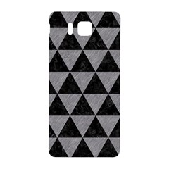 Triangle3 Black Marble & Gray Colored Pencil Samsung Galaxy Alpha Hardshell Back Case