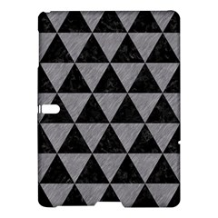 Triangle3 Black Marble & Gray Colored Pencil Samsung Galaxy Tab S (10 5 ) Hardshell Case