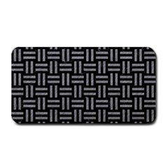 Woven1 Black Marble & Gray Colored Pencil Medium Bar Mats