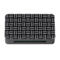Woven1 Black Marble & Gray Colored Pencil Memory Card Reader With Cf