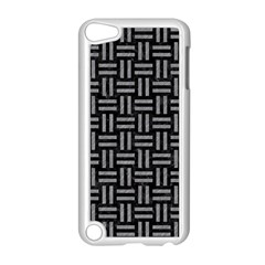 Woven1 Black Marble & Gray Colored Pencil Apple Ipod Touch 5 Case (white)